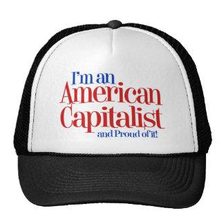 Capitalista americano… y orgulloso de él gorro de camionero