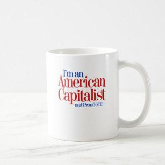 Capitalista americano… y orgulloso de él tazas