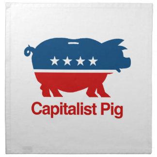 Capitalista Pig.png Servilleta De Papel