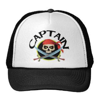 capitán 3D Gorras De Camionero