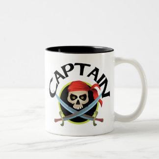 capitán 3D Taza Dos Tonos