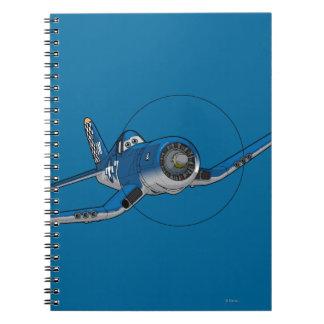 Capitán 4 spiral notebook