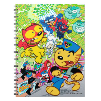 Capitán Action Cat Notebook