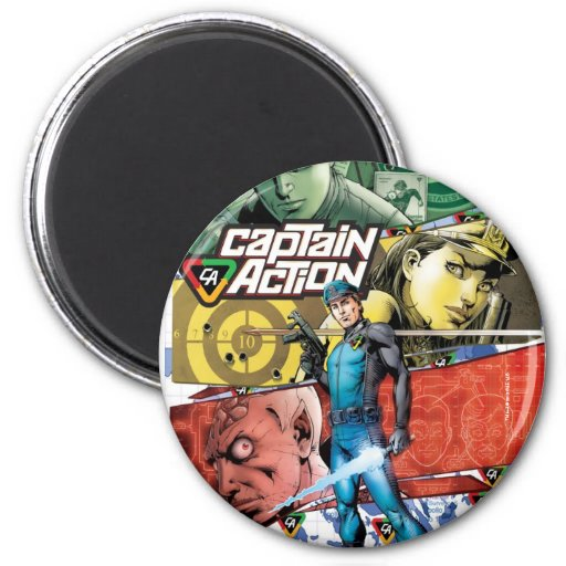 Capitán Action Magnet Imanes