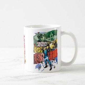 Capitán Action Mug Taza De Café