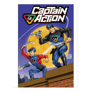 Capitán Action- Murphy Anderson Postal