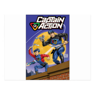 Capitán Action- Murphy Anderson Postales