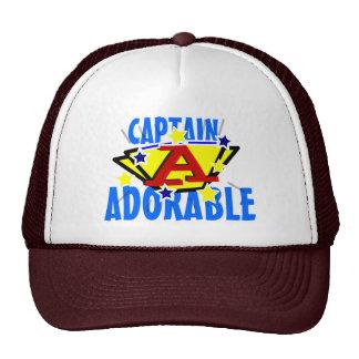 Capitán Adorable Funny Gorro De Camionero
