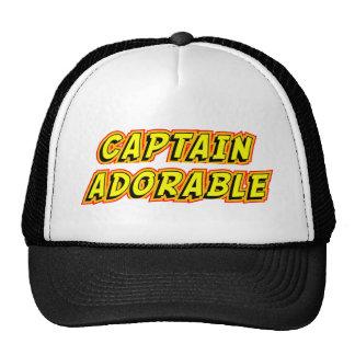 Capitán Adorable Gorros Bordados