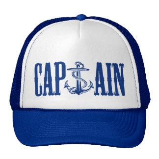 Capitán Ain Cap'Ain del ancla del casquillo Gorros