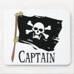 Capitán alegre de Rogelio Alfombrilla De Ratón