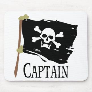 Capitán alegre de Rogelio Alfombrillas De Ratones