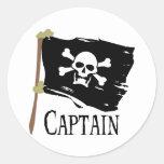 Capitán alegre de Rogelio Etiqueta