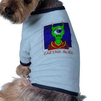 Capitán ALIEN Camisas De Perritos