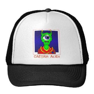 Capitán ALIEN Gorros Bordados