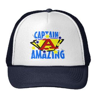 Capitán Amazing Gorras De Camionero