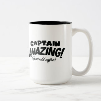Capitán Amazing Mug Taza