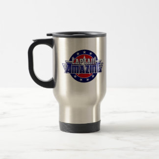Capitán Amazing Travel Mug Taza Térmica