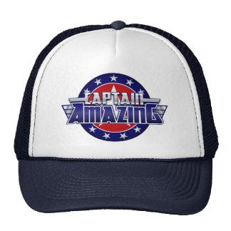 Capitán Amazing Trucker Hat Gorro De Camionero