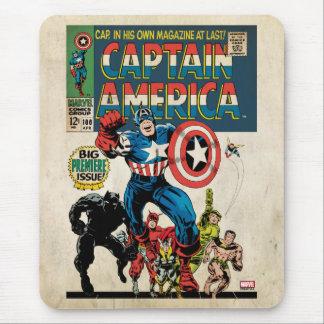 Capitán América #100 cómico Mouse Pads