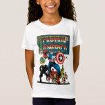 Capitán América #100 cómico Playera