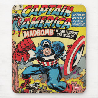 Capitán América #193 cómico Alfombrillas De Ratones