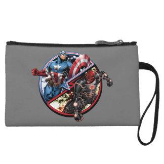 Capitán América contra el cráneo rojo