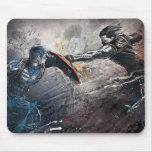 Capitán América contra soldado del invierno Alfombrilla De Raton