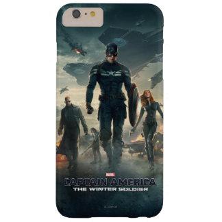 Capitán América: El poster del soldado del Funda De iPhone 6 Plus Barely There