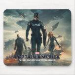 Capitán América: El poster del soldado del inviern Tapete De Ratones