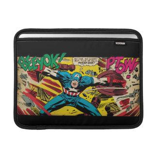 Capitán América-Fase uno Fundas Macbook Air