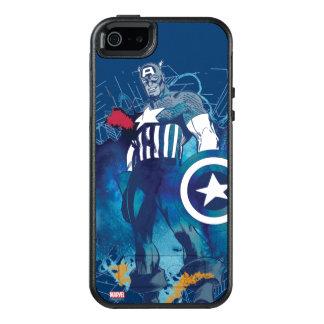 Capitán América Funda Otterbox Para iPhone 5/5s/SE