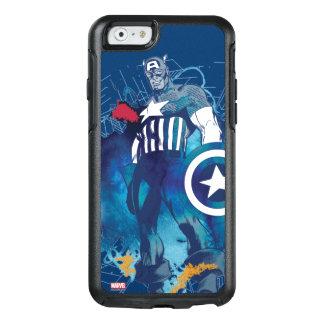 Capitán América Funda Otterbox Para iPhone 6/6s