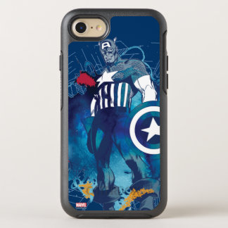 Capitán América Funda OtterBox Symmetry Para iPhone 7