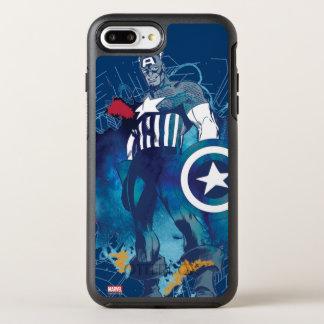 Capitán América Funda OtterBox Symmetry Para iPhone 7 Plus