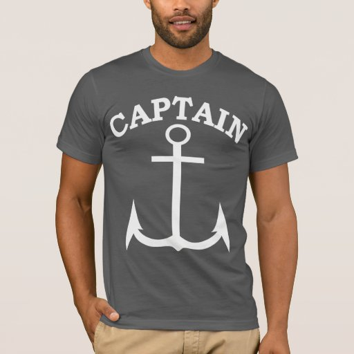 Capitán American Apparel de Anchor Black/blanco Playera