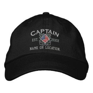 Capitán americano personalizado Nautical Gorra De Béisbol