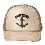 Capitán Anchor Trucker Cap Gorros Bordados