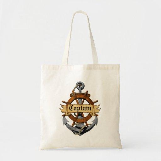 Capitán Anchor y rueda Bolsa