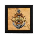 Capitán Anchor y rueda Caja De Regalo