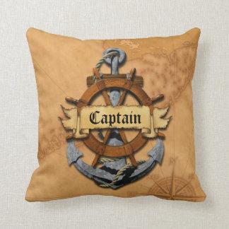 Capitán Anchor y rueda Almohadas