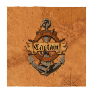 Capitán Anchor y rueda Posavasos