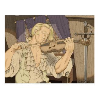 Capitán Aubrey y su violín Postales