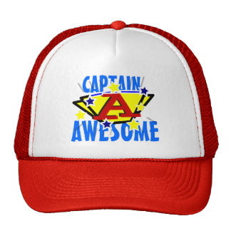 Capitán Awesome Funny Gorra