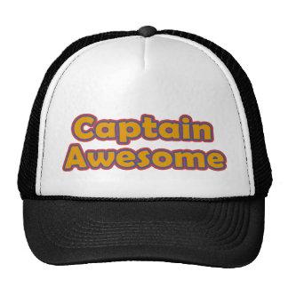 Capitán Awesome Gorras