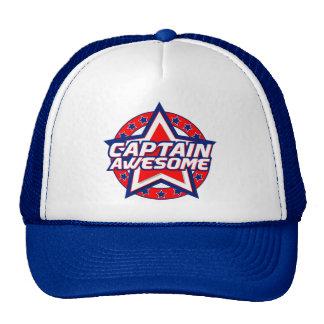 Capitán Awesome Gorro De Camionero