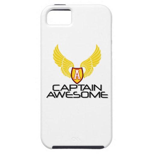 Capitán Awesome iPhone 5 Funda