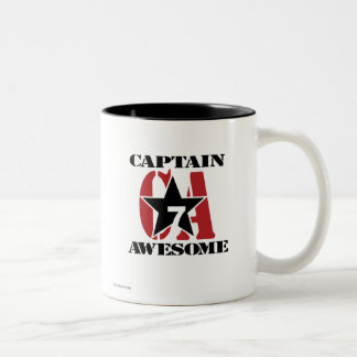 Capitán Awesome Taza