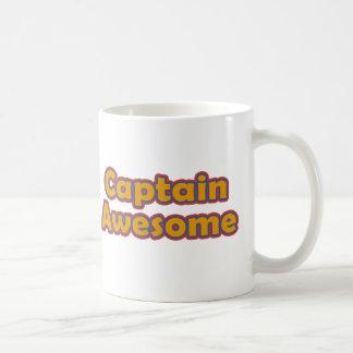 Capitán Awesome Taza De Café