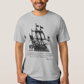 Capitán Blood Pirate T-shirt Remeras